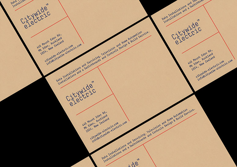 Citywide Electric Visual Identity