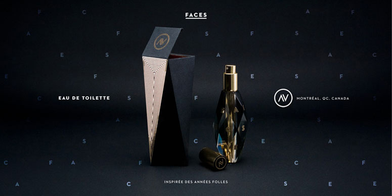 Fragrance FACES Packaging