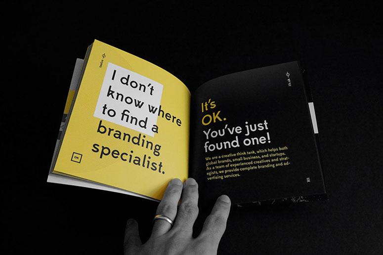 <em>It's OK</em> (or An Optimistic Approach for A Pessimistic Brand Owner) Self-Promotion
