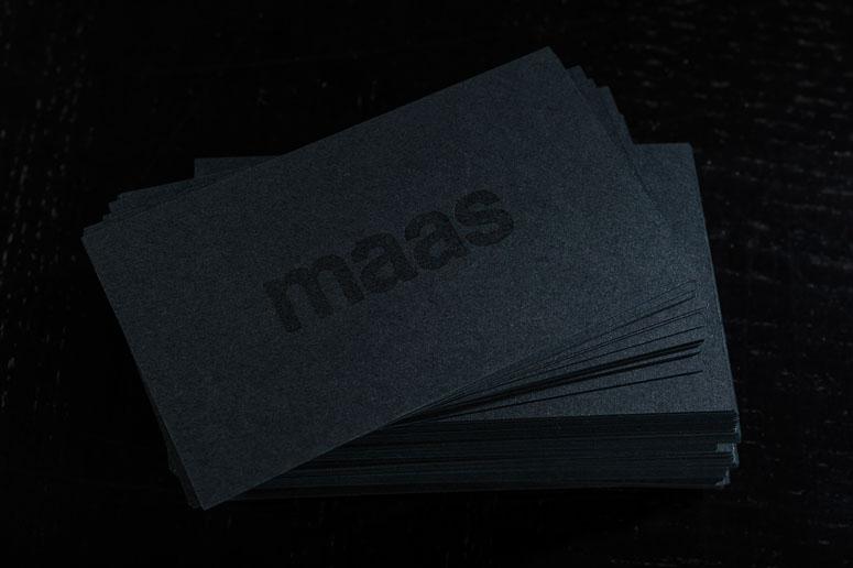 Maas Studio Business Cards