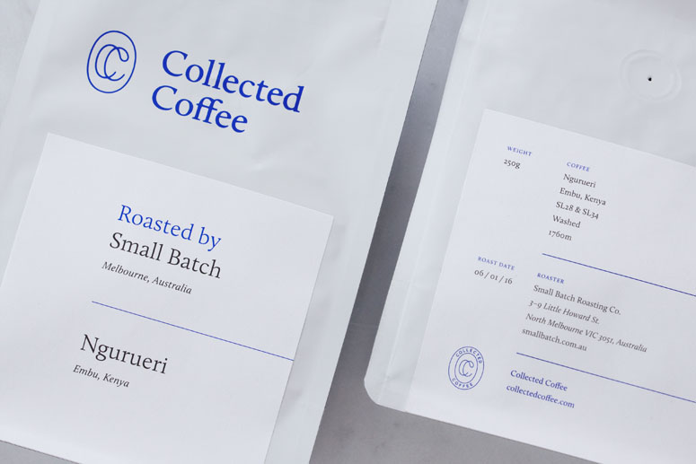 Collected Coffee Packaging
