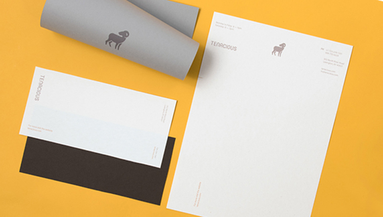 Tenacious Landscaping Stationery