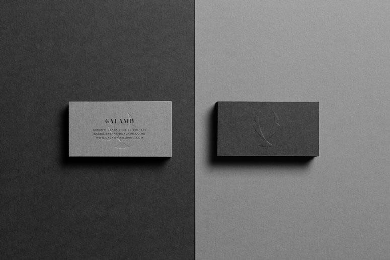 Galamb Tailoring Identity Materials
