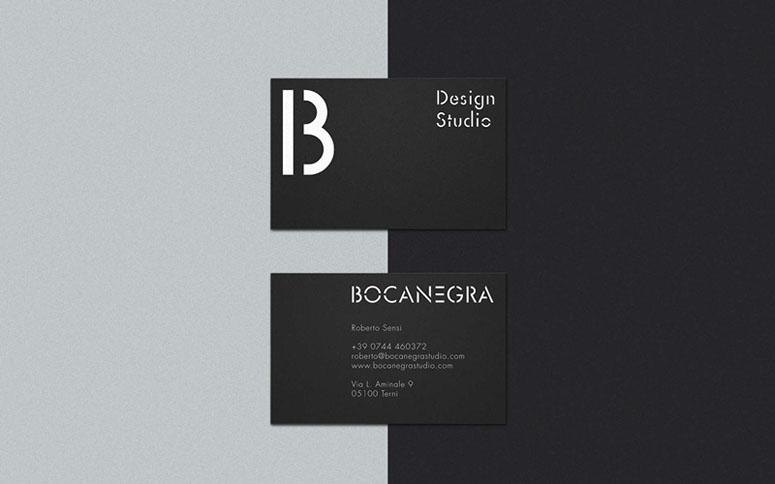 Bocanegra Studio Identity Materials