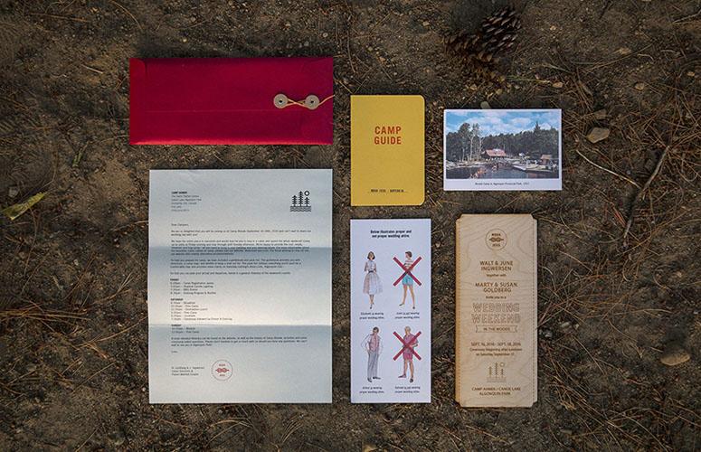 Walt & June Wedding Invitation