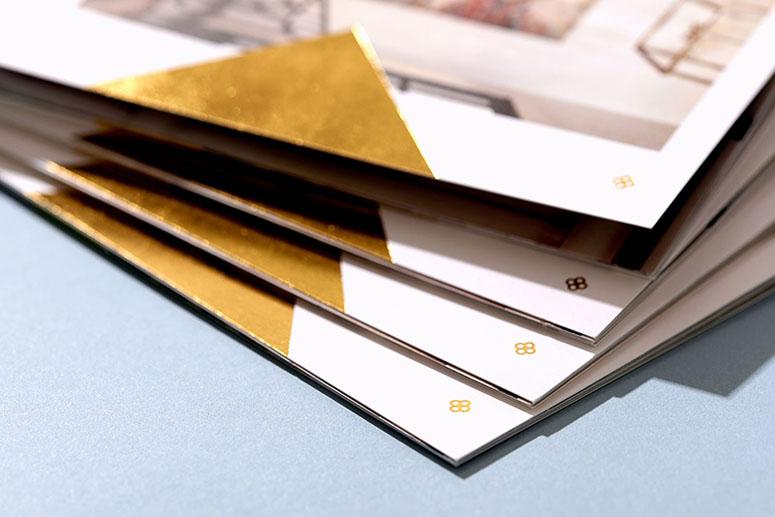 Kim Scodro Interiors Mini Brochure and Business Cards