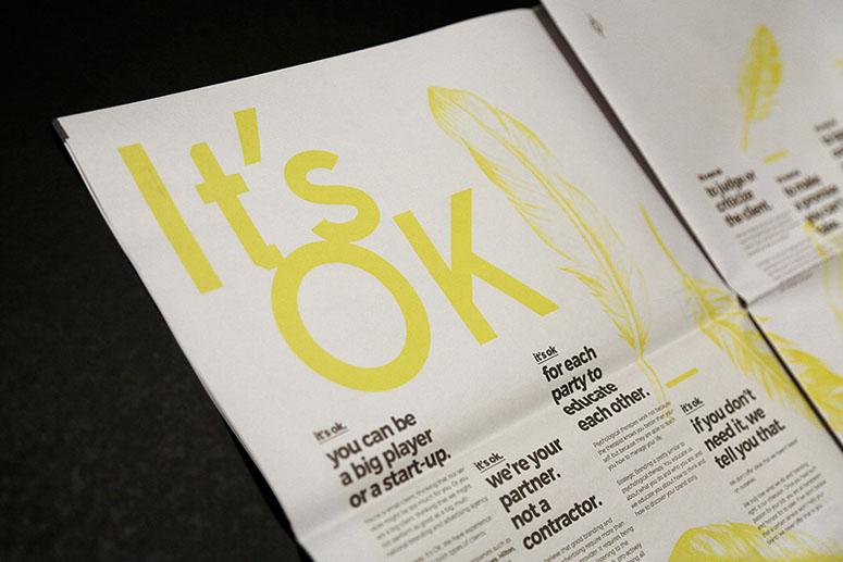 It's OK Portfolio Newspaper