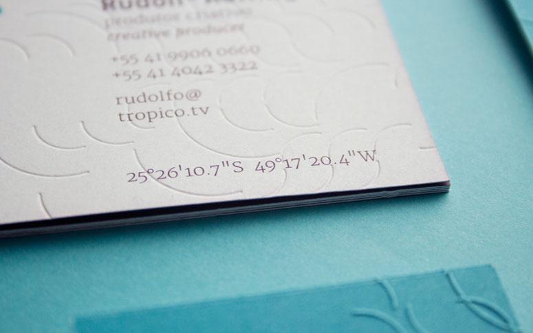 Trópico Business Card