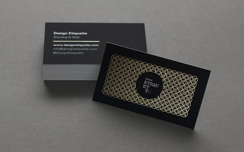 Fpo design etiquette business cards reheart Images