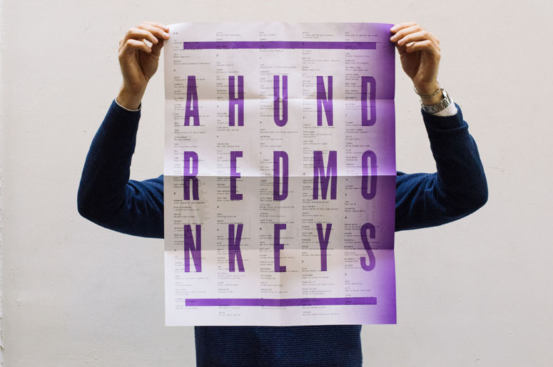 A Hundred Monkeys Poster