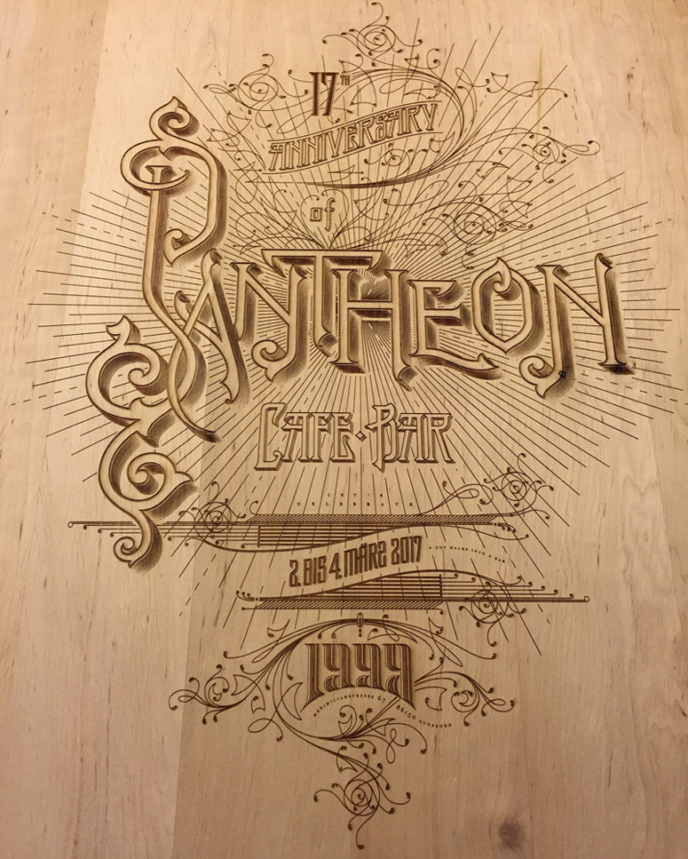 Pantheon 17th Anniversary Poster