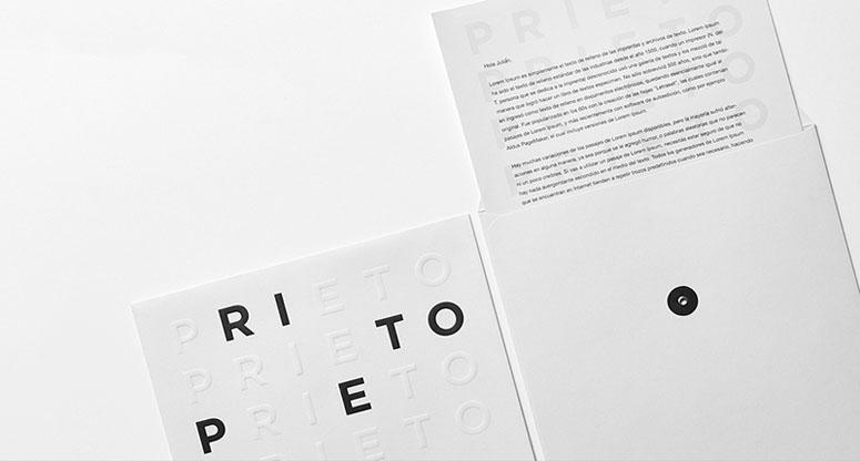 Prieto Estudio Brand Identity