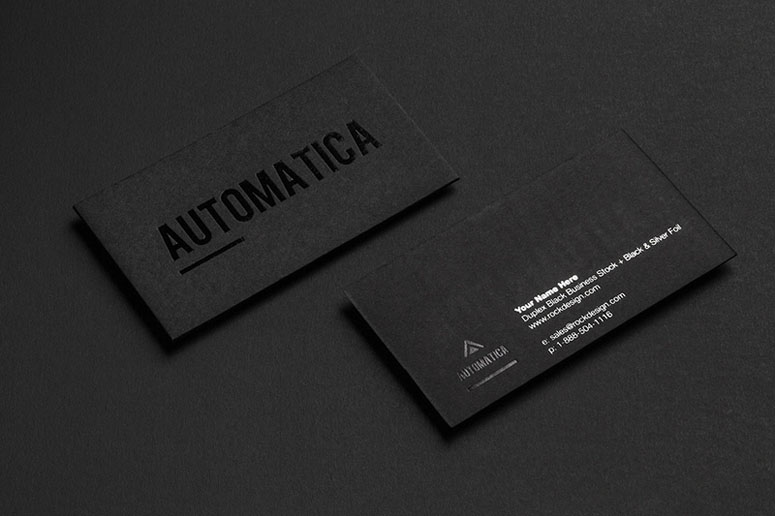 Fpo Rockdesigns Automatica Business Card