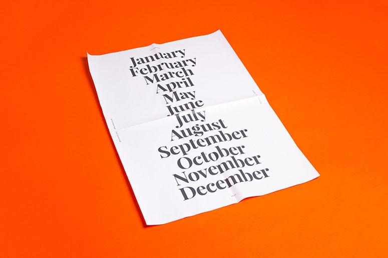 Refinery29 Design Calendar