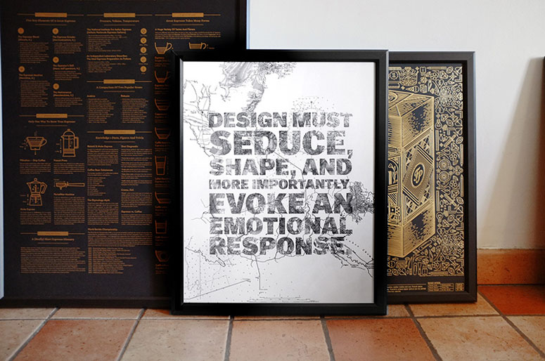 The Design Letterpress Poster