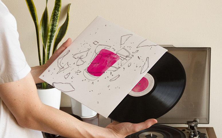 Relicários de São Tolosa LP Package