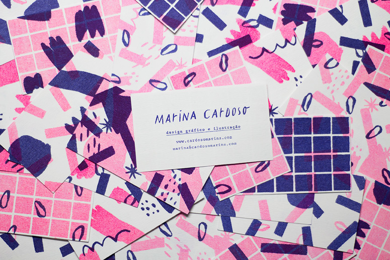 Marina Cardoso Business Cards