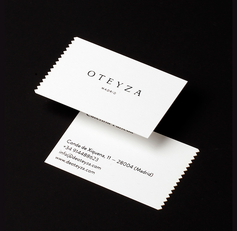 Oteyza Business Cards