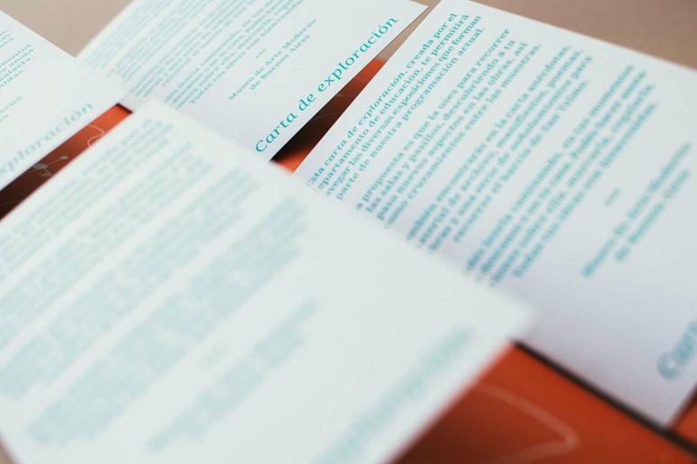 Carta de Exploración Brochure