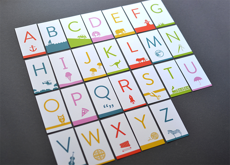 Illustrated Alphabet Matching Game