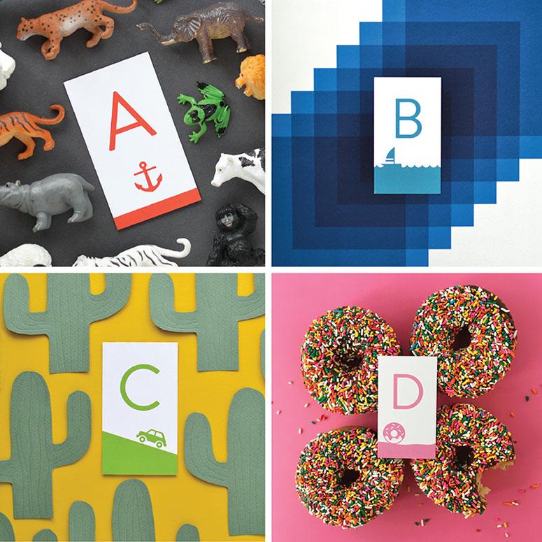 Illustrated Alphabet Matching Game