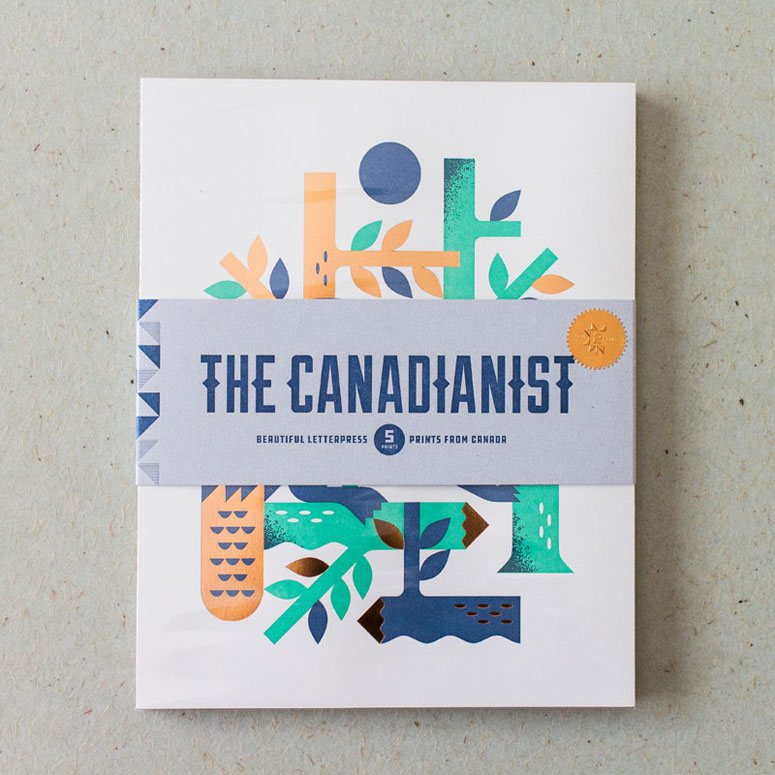 The Canadianist Issue 2: Beautiful Letterpress Prints From Canada