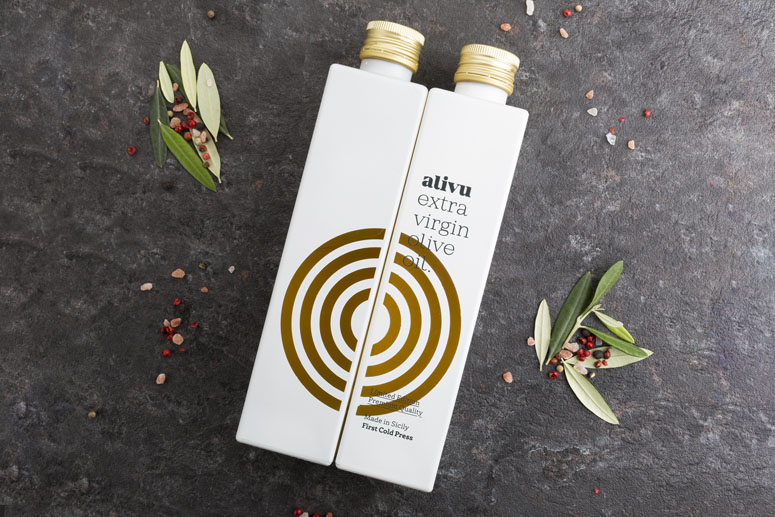 Alivu Evo Oil Packaging