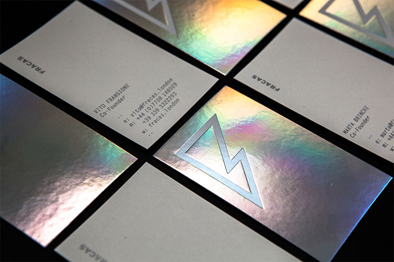 Fracas Productions Business Cards