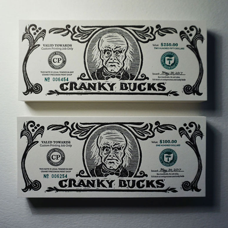 Cranky Bucks Promotion