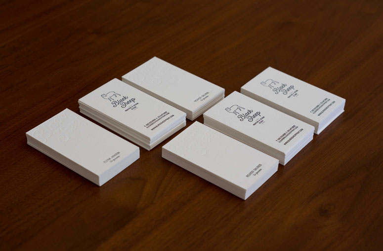 Black Sheep Studio Business Cards and Promotional Items