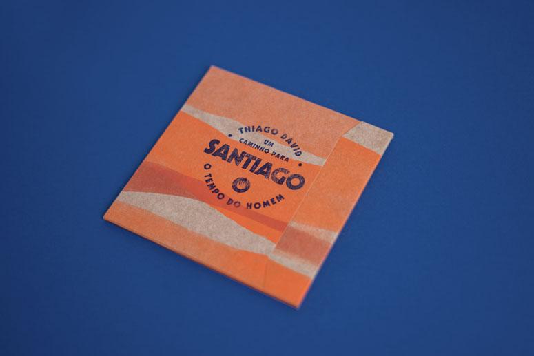 Um Caminho para Santiago CD Package and Diary