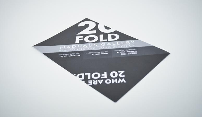 20 FOLD Flyer/Postcard
