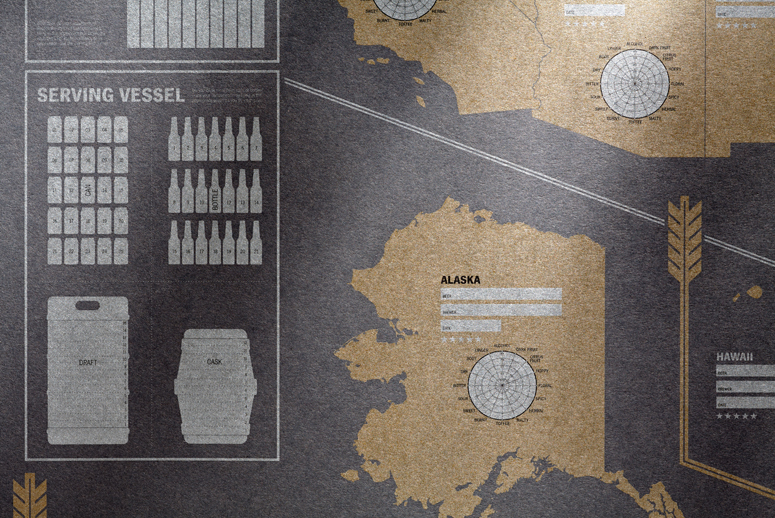 33 Books Co. Map Posters