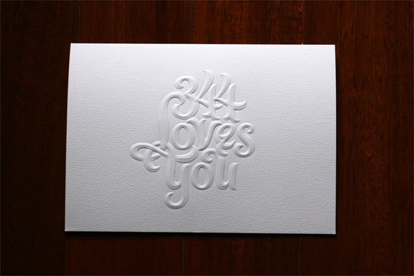 344 Loves You Card
