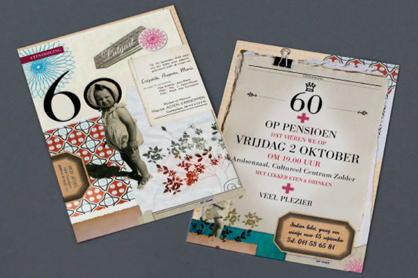 fpo 60th birthday invitation