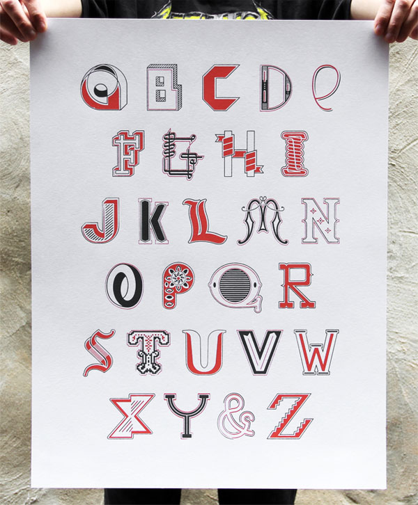 Alphabet Promotional Poster