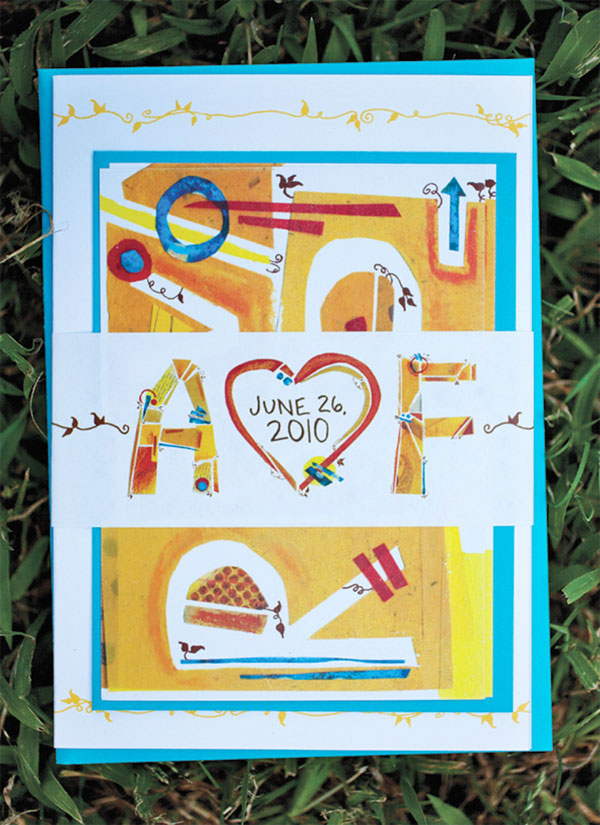 Amy and Forrest Wedding Stationery