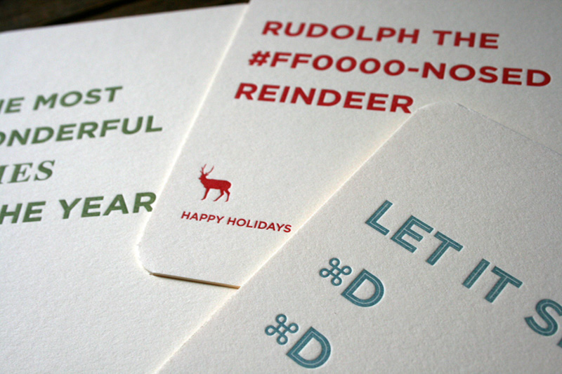 Holiday Cards for Graphic & Website Designers