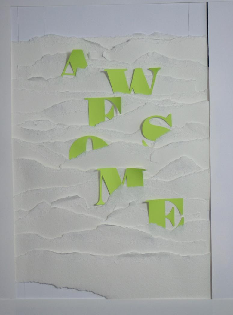 Kelli Anderson at AIforGA Poster