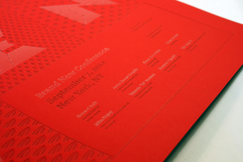 2012 Brand New Conference Program and Poster