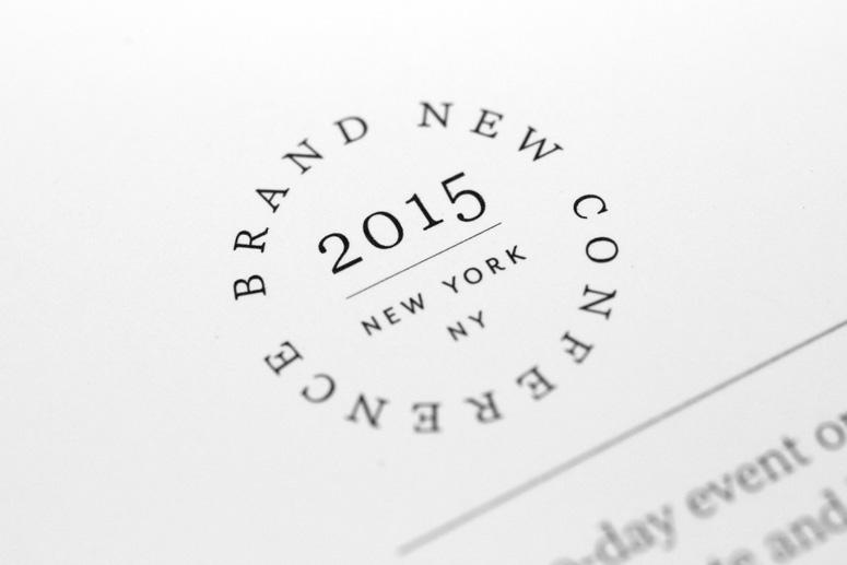 2015 Brand New Conference Program
