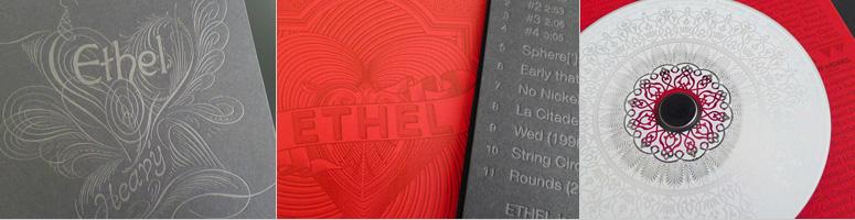 """Ethel's """"Heavy"""" CD Packaging"""