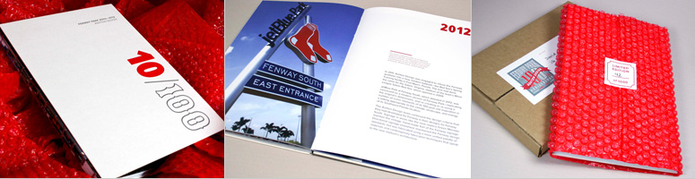 10/100 Fenway Park Commemorative Book