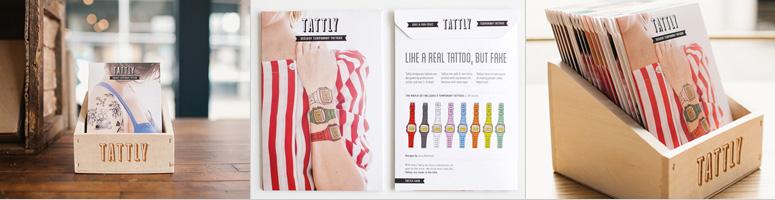 Tattly Set Packaging