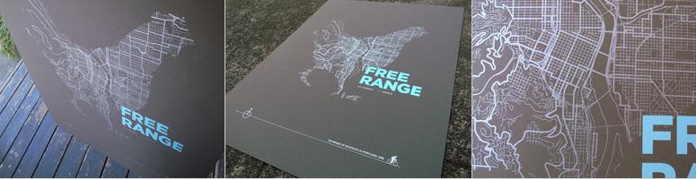ARTCRANK Free Range Poster