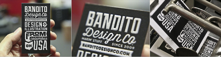 Bandito Design Co. Business Card