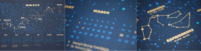 MMXIV: Star Chart Calendar