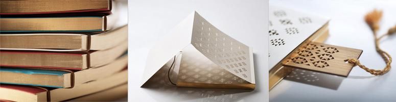 Mashrabiya Notebooks & Bookmark for Zeri Crafts