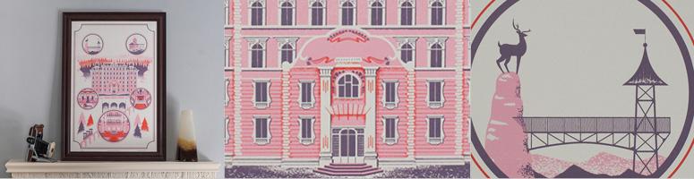 The Grand Budapest Hotel Print