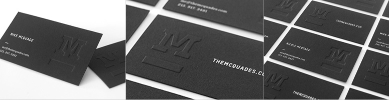 The McQuades Business Cards
